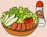 赤い恋人サラダ